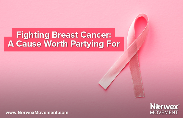 Fighting Breast Cancer: A Cause Worth Partying For